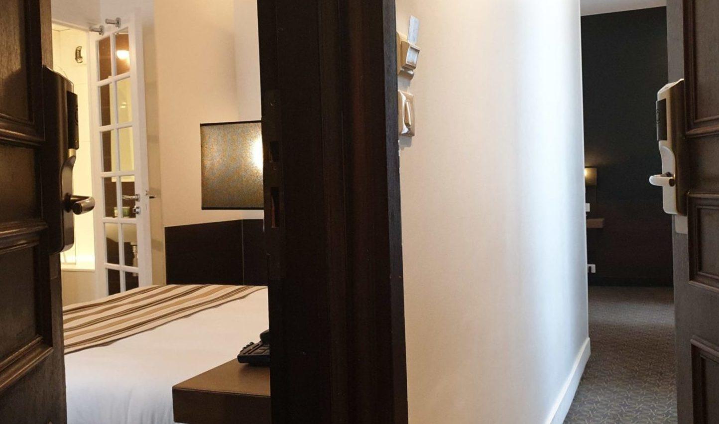 chambres communicantes or 2 - hôtel star champs-élysées