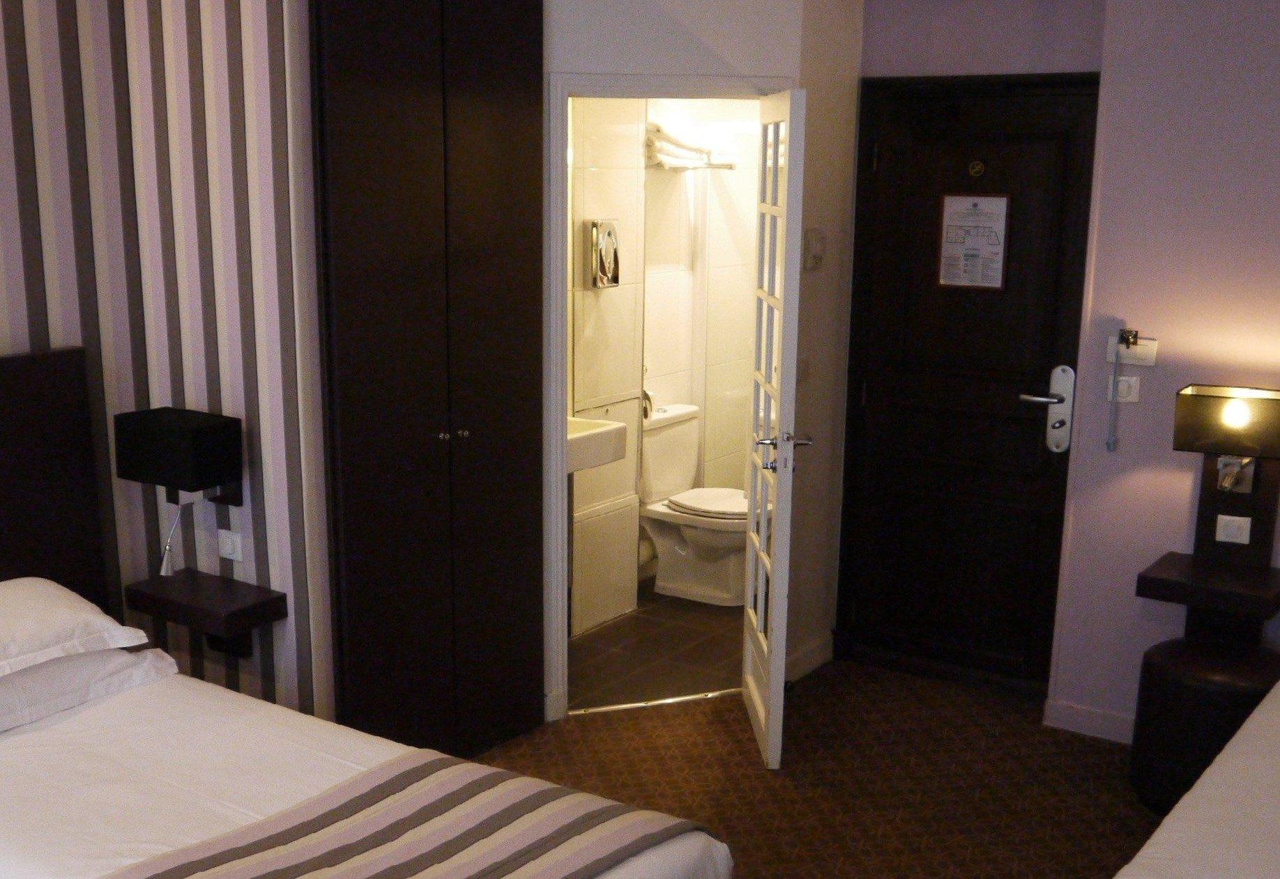 chambre triple parme - hôtel star champs-élysées