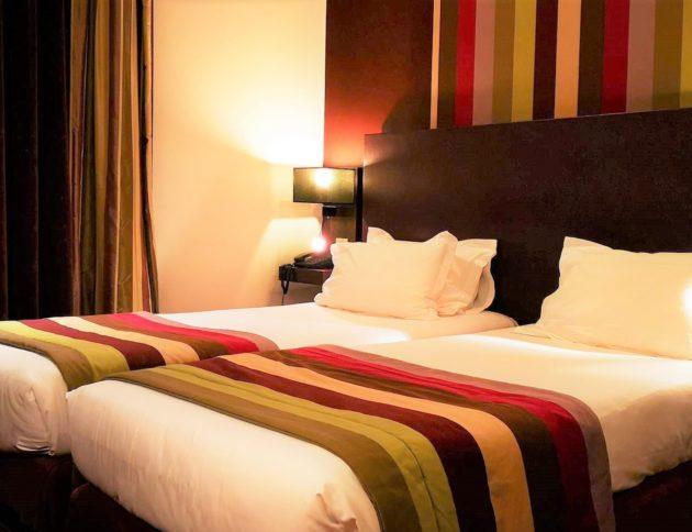 chambre twin supérieure rayures 10 - hôtel star champs-élysées