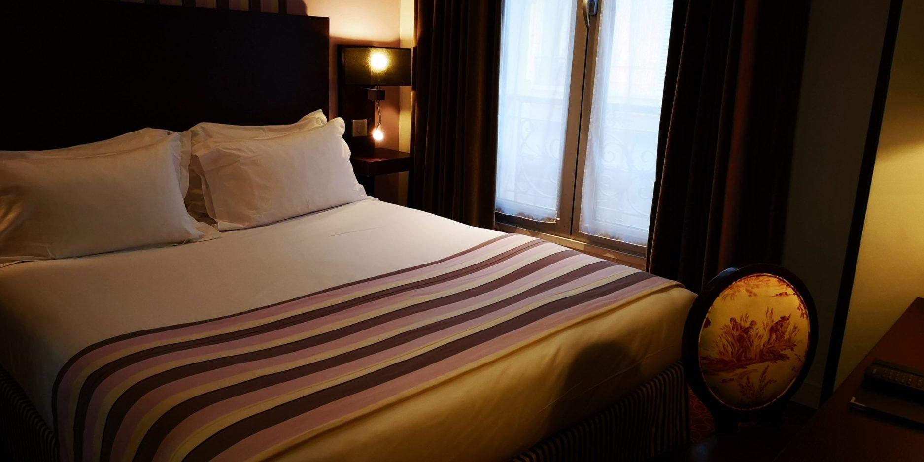 chambre double classique parme - hôtel star champs-élysées