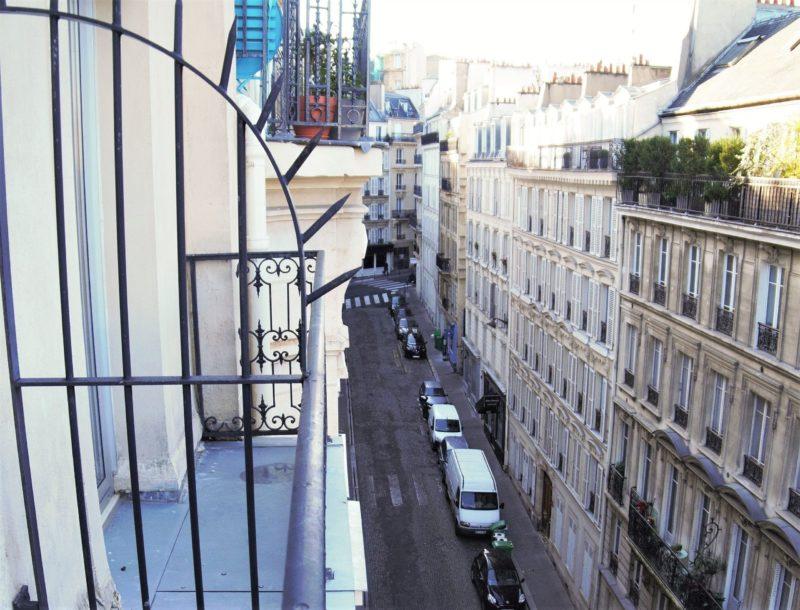 Balcon chambre double classique - hôtel star champs-élysées