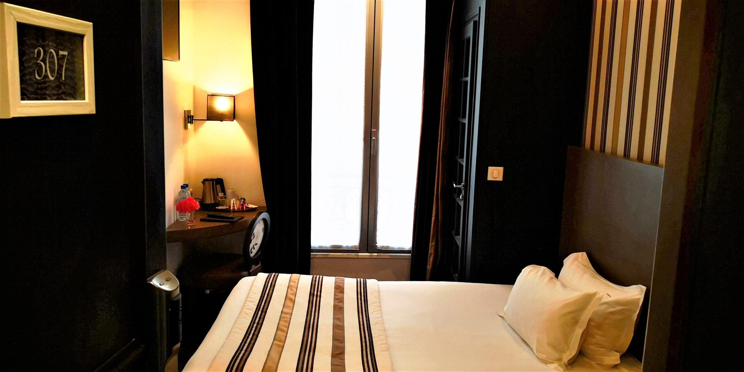 Chambre single or - hôtel star champs-élysées