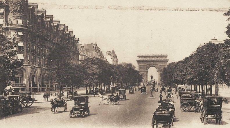 photo ancienne arc de triomphe